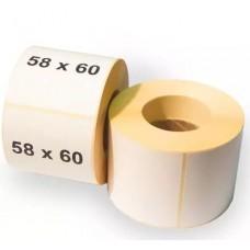 Термо этикетка 58*60