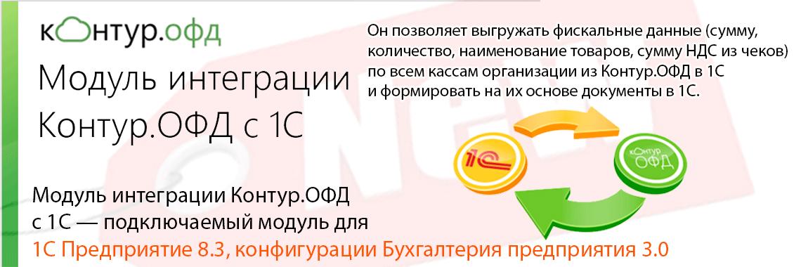 Модуль интеграции Контур.ОФД